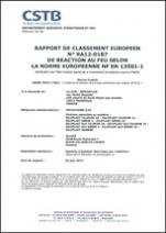 RAPPORT REACTION AU FEU JEFCOTHERM S.CE